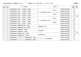 A7 市の独自の基準による通所型サービス(PDF 83.9KB)