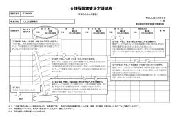 介護保険審査決定増減表 - 東京都国民健康保険団体連合会