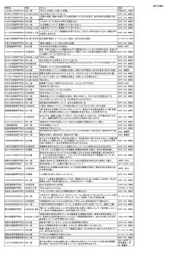 小論文出題テーマ(PDF - Hi-HO