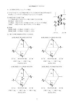 反応理論化学板書3