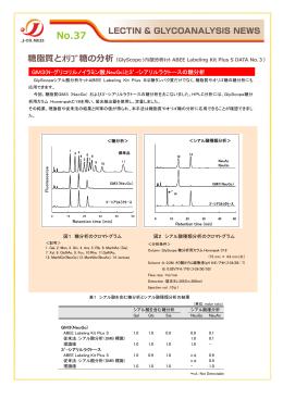 GM3(N-グリコリルノイラミン酸,NeuGc)と3`