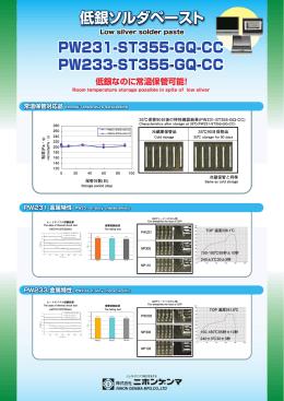 低銀ソルダペースト 低銀ソルダペースト PW233-ST355-GQ