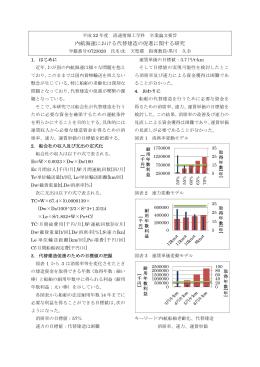 内航海運における代替建造の促進に関する研究