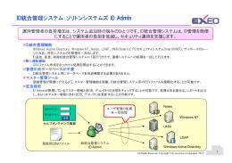 ID統合管理システム:ソリトンシステムズ 統合管理システム:ソリトン