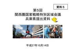 資料5 兵庫県提出資料(PDF:887KB)