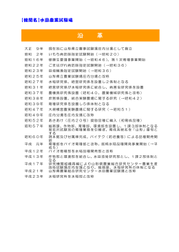 沿革 - 山形県ホームページ