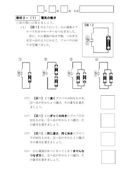 教材3-(1) 電気の働き