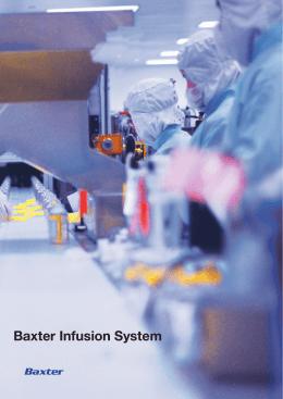 バクスター インフュージョン システム(pdf: 3.5MB)