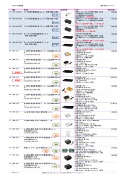 同軸信号重畳ユニット 製品一覧 - 株式会社スリーディー 3D Corporation