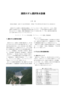 10.湯西川ダム選択取水設備[PDF:863KB]