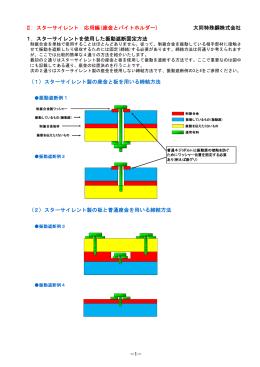Ⅱ.スターサイレント 応用編(座金とバイトホルダー) 大同特殊鋼株式会社