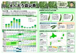 えんどう豆の巻 - 東京多摩青果