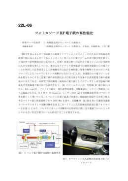 22L-06 フォトカソード RF 電子銃の高性能化