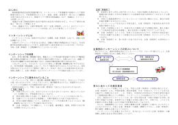 高校生のためのインターンシップ(PDF形式 418 キロバイト)