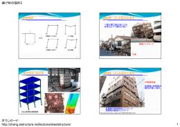 曲げ材の設計2 ダウンロード: http://zhang.aistructure.net/lectures