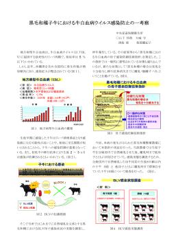 演題:黒毛和種子牛における牛白血病ウイルス感染防止の一考察