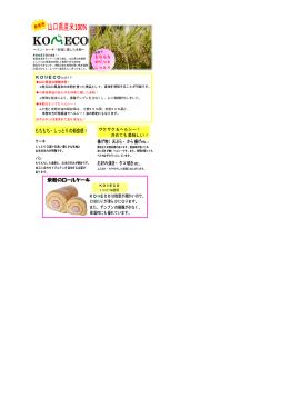 山口県産米米粉