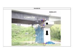 1m 約5m 約6m 吊チェーンクランプ 親綱撤去箇所 安全帯