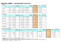 公営企業会計資金不足比率の状況(PDF:9KB)