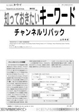 チャンネルリパック - 映像情報メディア学会