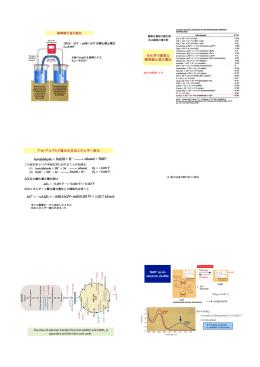 標準酸化還元電位 アセトアルデヒド還元の自由エネルギー変化 NAD+!