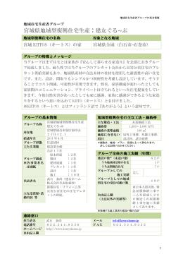 建友ぐる ぷ - 宮城県地域型復興住宅推進協議会