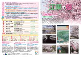 江東区桜マップ 江東区桜マップ