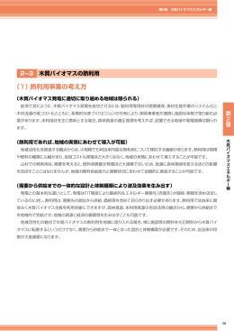 木質バイオマスの熱利用(PDF:1559KB)