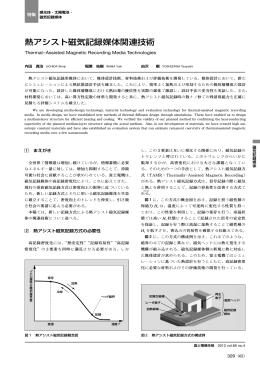 熱アシスト磁気記録媒体関連技術