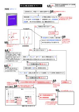 中心暗点検査(M チャート)