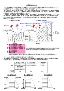 第一種低層住居専用地域 15m ※ちなみに、横須賀市の高度地区規制は以