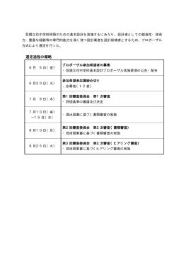 選定過程(PDF:3KB)