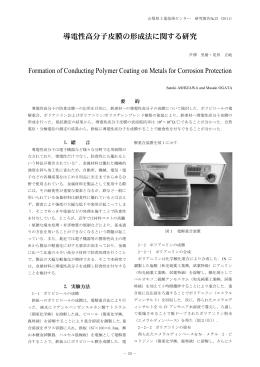 導電性高分子被膜の形成法に関する研究(PDF:867KB)