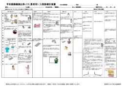 甲状腺腫瘍摘出術パス(患者用)/入院診療計画書