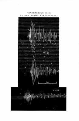 河内大和強震地震計記象 (其の 洲本 7