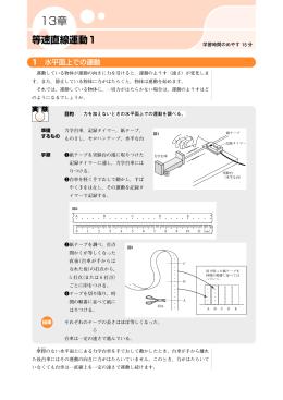 等速直線運動1