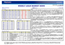 Weekly Asia Market News (J) 151002