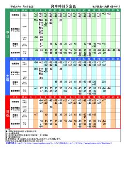 宮城 交通 時刻 表