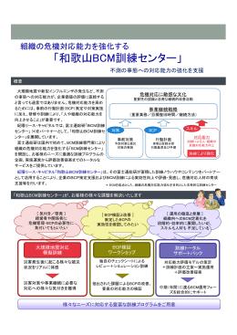 「和歌山BCM訓練センター」(PDF)