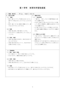 (宝取り鬼) 指導案(PDF・234KB)