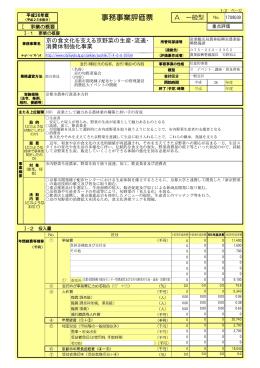 京の食文化を支える京野菜の生産・流通・ 消費体制強化事業