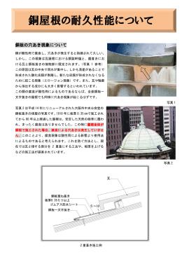 銅屋根の耐久性能について