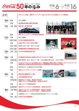 平成6年 - 北陸コカ・コーラボトリング