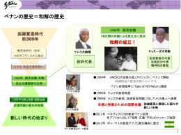 ベナン和解と平和のプロセス(チャート)