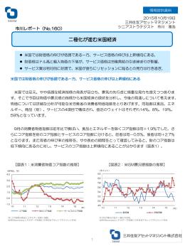 【No.160】二極化が進む米国経済