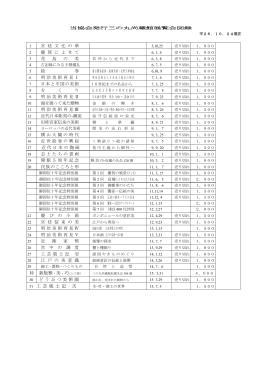 図録一覧表 - 菊葉文化協会