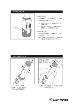 クイックデーター印面交換/前印調整