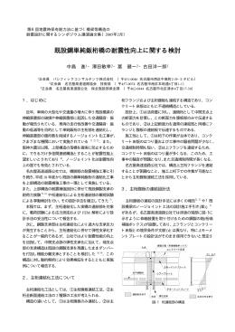 既設鋼単純鈑桁橋の耐震性向上に関する検討