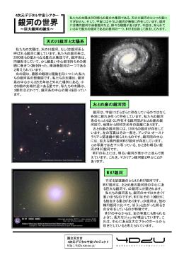 銀河の世界 銀河の世界