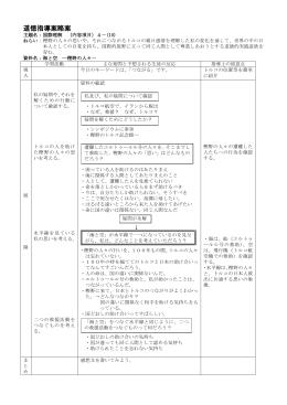 海と空道徳指導案略案(小山先生)
